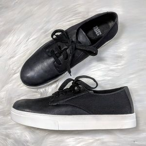 Eileen Fisher Leather & Canvas Sneakers